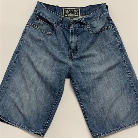 Levi's Other - Levi's 579 Baggy Jean Shorts